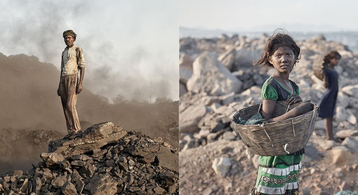 Coal Mining Photographed