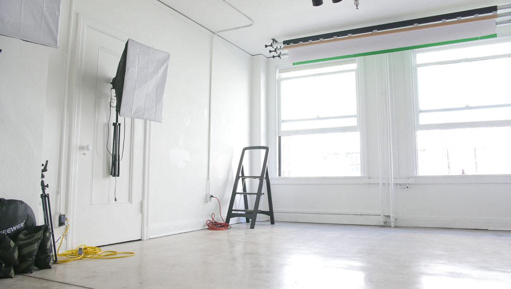 photo studio layout